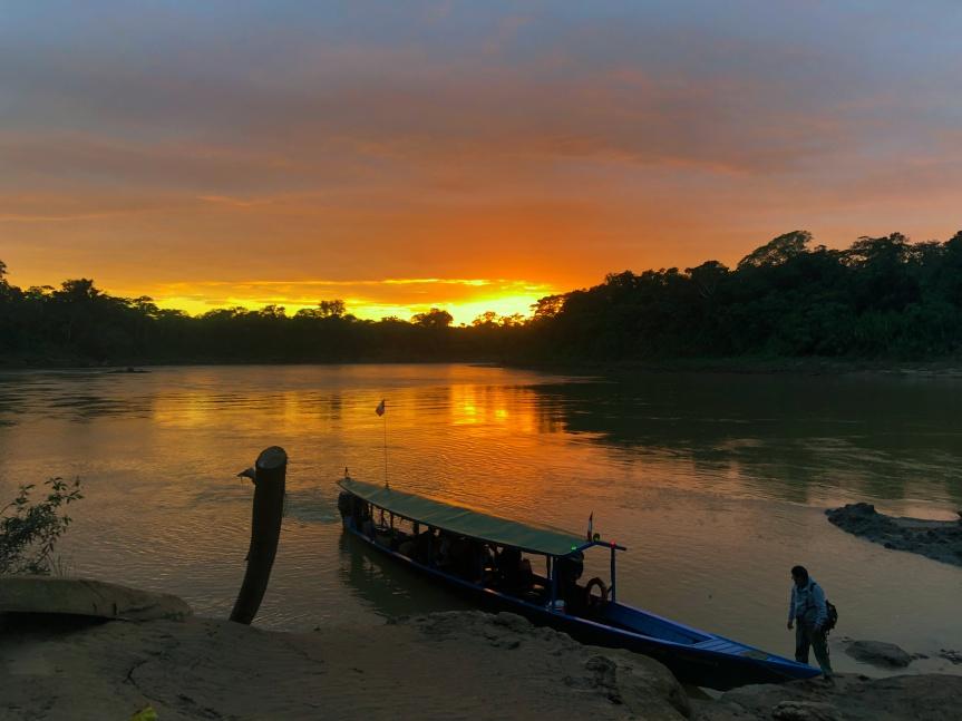 [苗旅] 秘魯-Puerto Maldonado亞馬遜雨林(中):Tres Chimbadas遊湖之旅